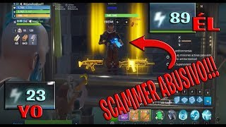 Low Level Scamea to Scamer High Level ? Fortnite Save the World