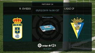 R. Oviedo - Cádiz CF MD24 D1600