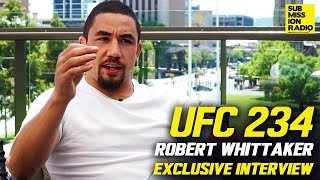 "Robert Whittaker on Israel Adesanya, Predicts He'll ""Starch"" Kelvin Gastelum at UFC 234"