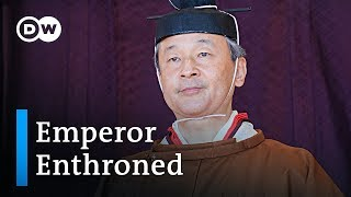 Japan Emperor Naruhito's enthronement ceremony | DW News