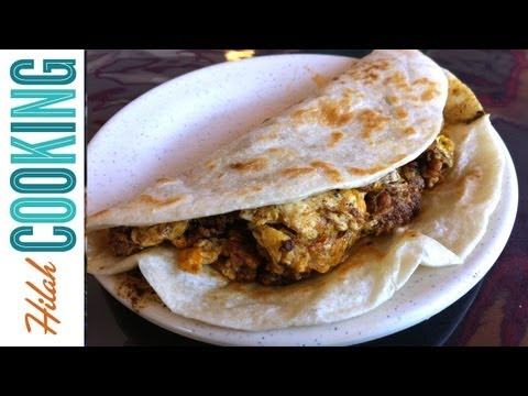 Hangover Tacos - How To Make Breakfast Tacos  Hilah Cooking Ep 3