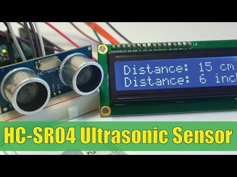 Ultrasonic Sensor HC-SR04 and Arduino Tutorial