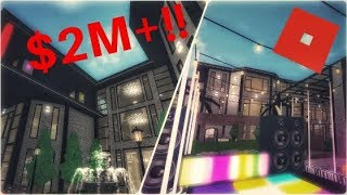 $2M+!!| Modern Luxury Mansion| Roblox| Welcome To Bloxburg