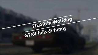 GTAV: online Fails and funny moments