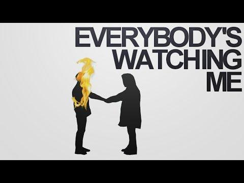 BTS; everybody's watching me