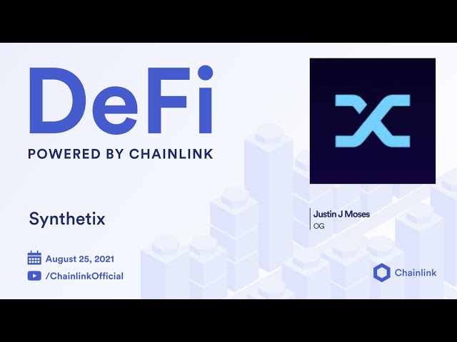 Synthetix on Chainlink Live | Synth Exchanges Live on L2 Optimism