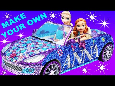 Thumbnail: FROZEN ANNA CAR VIOLET CRUZE Makeover Make Your Own + Elsa Car Barbie Car