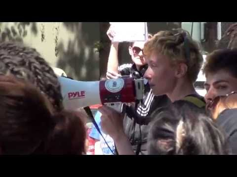 Part 7: RAW Footage, Disarm PSU Protest
