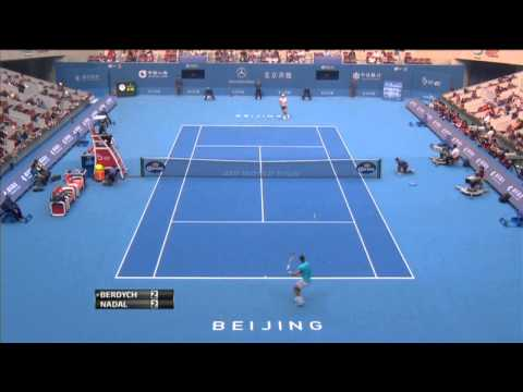 Beijing 2013 Saturday Nadal Drop Shot
