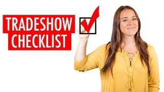 The Ultimate Trade Show Checklist and Budget Calculator