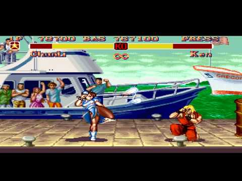 Super Street Fighter Ii Snes Super Battle Chun Li