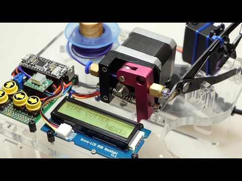 Arduino automated wire cutter