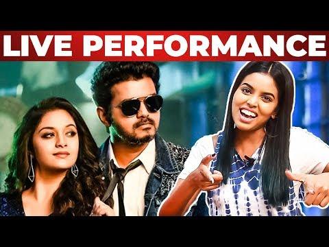 Sarkar-OMG Ponnu Song Live Singing by Singing Stars  Thanks to