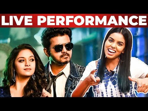 Sarkar-OMG Ponnu Song Live Singing by Singing Stars |Thanks toColors Tv | Vijay | Keerthy Suresh