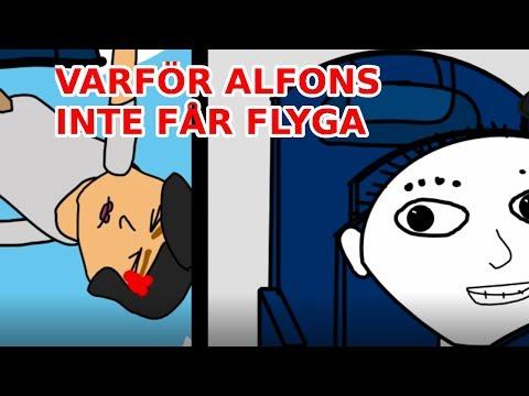 Varför Alfons inte får flyga | Vill du vara gäströst? (PARODI)