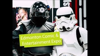 Edmonton Comic and Entertainment Expo 2017 Backstage Interviews