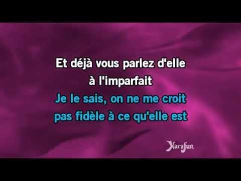 Karaoké Ma préférence - Julien Clerc *