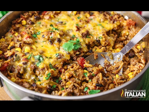 Cooking Mexican Rice Casserole