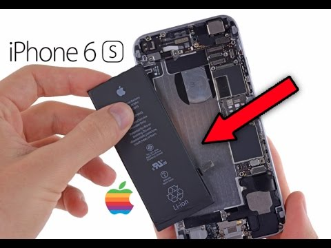 iphone 6s battery problem after update