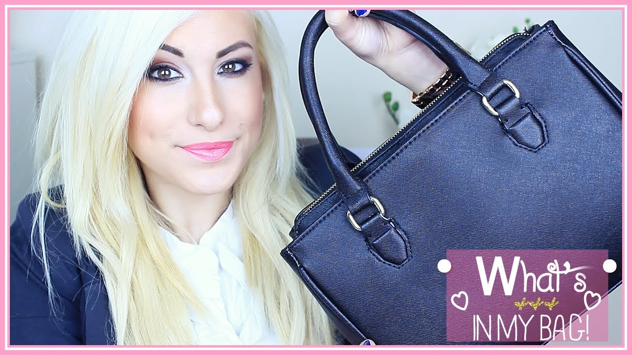 a296edca15 What's In My Bag - ZARA Mini Office City ♡ Stefy Puglisevich - YouTube