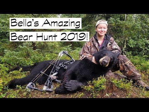 Bellas Amazing Black Bear Bow Hunt 2019