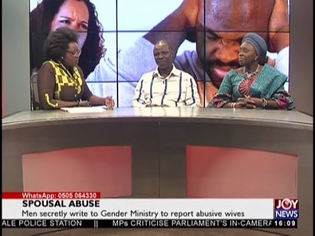 Spousal Abuse - The Pulse on JoyNews (17-8-18)