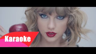 Taylor Swift - Blank Space (Karaoke/Instrumental) + LYRICS