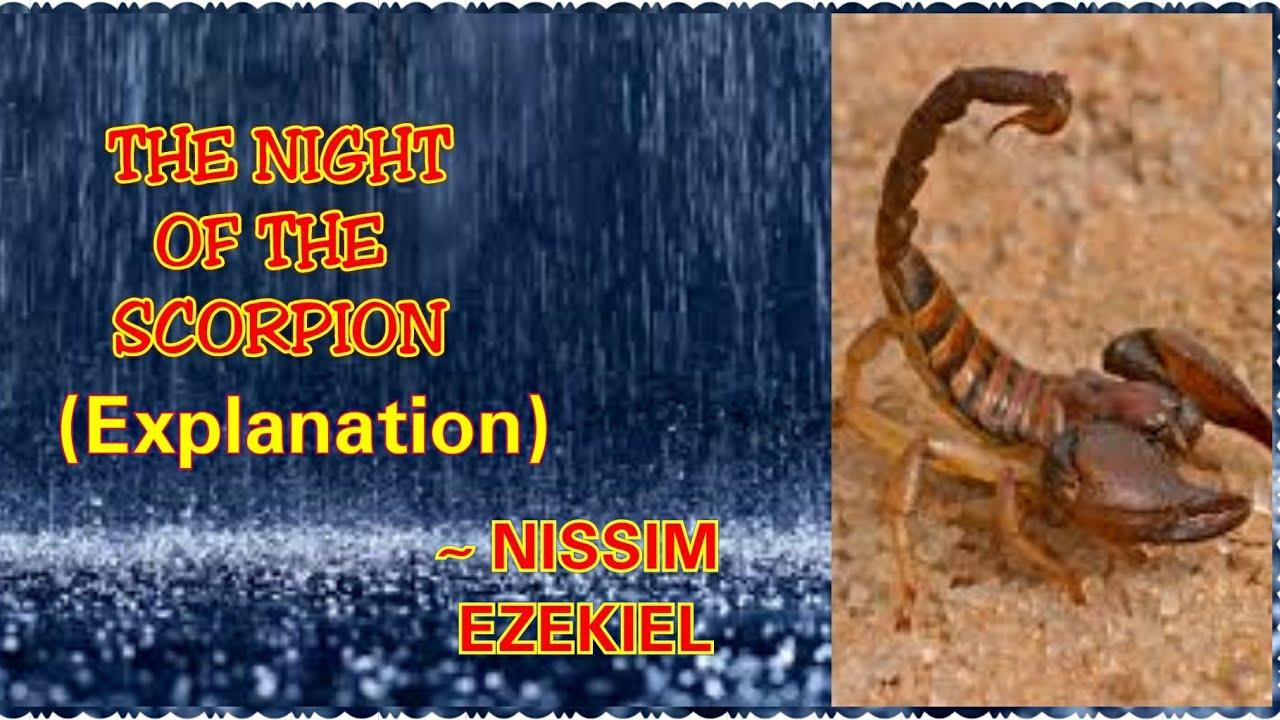 night of the scorpion by nissim ezekiel