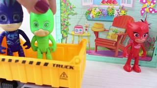 Pj Maskeliler Havuz Keyfi Yapıyor Eğlenceli Videolar