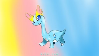 How to draw Amaura pokemon digital drawing KIDif Transforms Kid