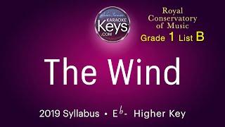 The Wind.   Eb-   RCM grade 1  (karaoke piano) WITH LYRICS