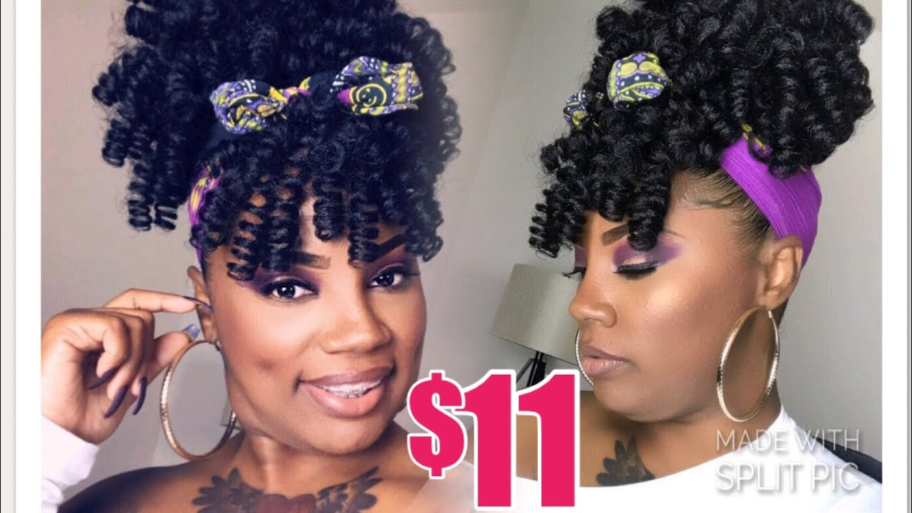 Faux Curly Pineapple Ponytail Outre Timeless Pineapple Curlette Large Youtube