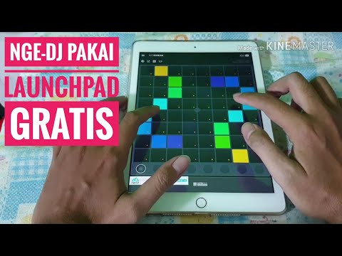 SuperLights Aplikasi DJ Gratis Alternative LauncPad Pro Novation Untuk Android IOS IPad 6 2018 2019