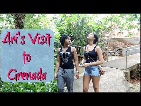 Ari's Visit to Grenada | VLOG