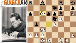 GM Analysis #39 An Amazing Chess Sacrifice - Kholmov vs Bronstein