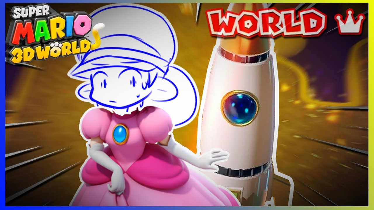Playing World Crown for the 1st Time IS A NIGHTMARE in Mario 3D World