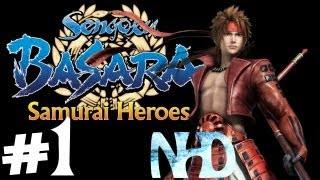 Sengoku Basara Samurai Heroes: Yukimura Sanada Heroes' Story pt1(Battle of Tetorigawa)