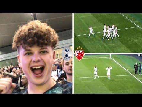 Tottenham 5-0 Red Star Belgrade! Champions League Match Day Vlog! Heung Min Son 손흥민 scores 2 goals!
