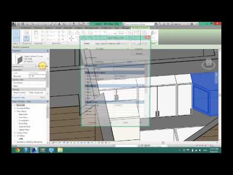 How to Create a Kitchen in Revit Architecture