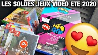 SOLDES jeux vidéo été 2020 JEUX SWITCH à 9 euros, la folie !