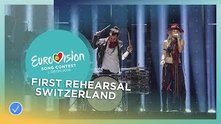 ZiBBZ - Stones - First Rehearsal - Switzerland - Eurovision 2018