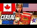 CANADIAN GETS AMERICAN CEREAL HAUL!!!