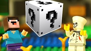 ЧЕЛЛЕНДЖ для Лего НУБика в Майнкрафте - Minecraft Мультфильмы FNAF ФНАФ - LEGO Animation и Мультики