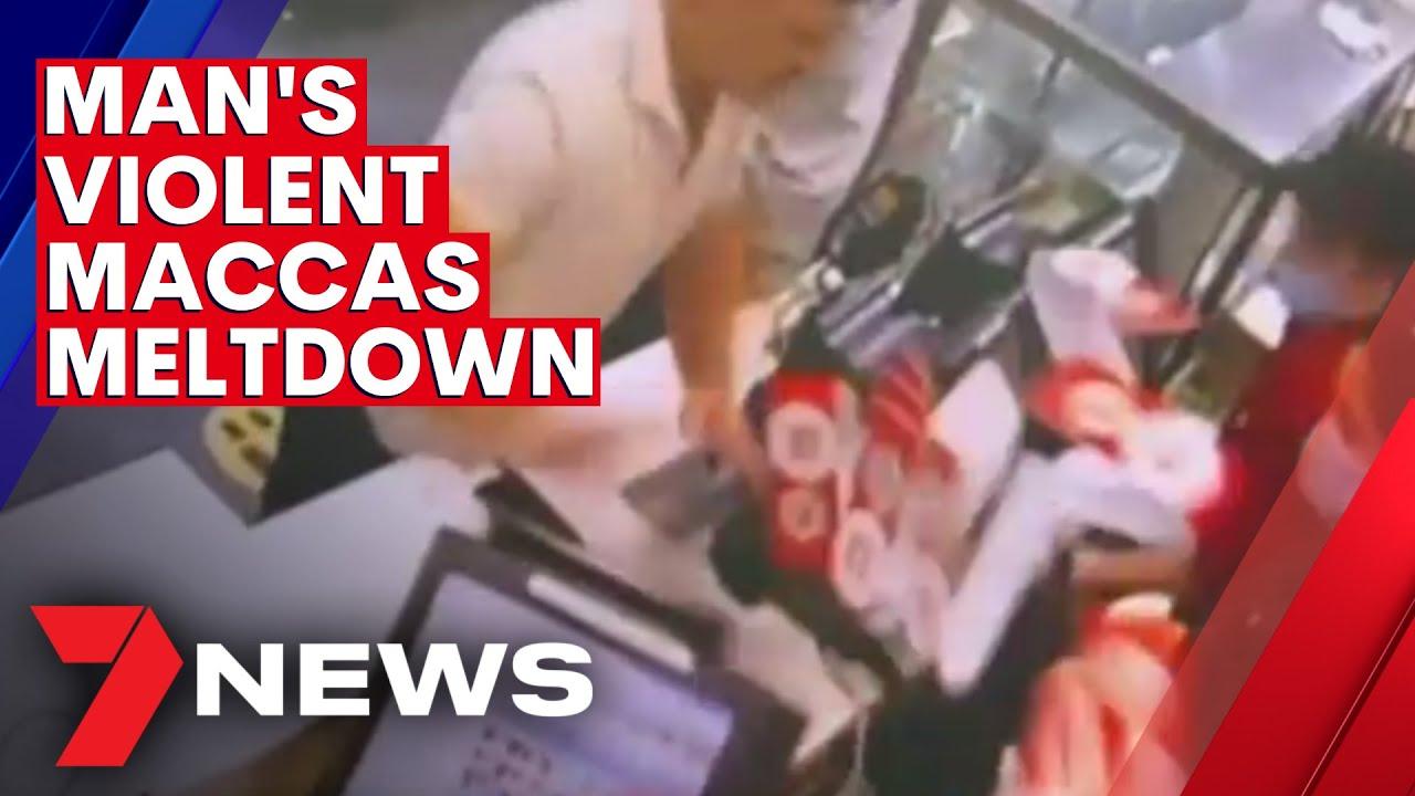 Sydney man learns fate after McDonald's QR code request sparks violent outburst   7NEWS