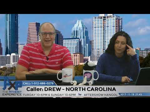 Dealing with Theist Family Members on Thanksgiving | Drew – NC | Atheist Experience 21.45