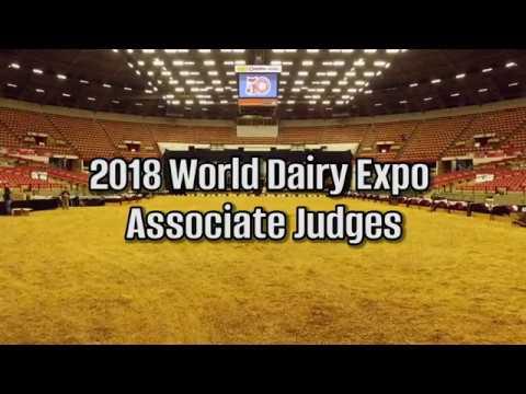 2018 World Dairy Expo Associate Judges