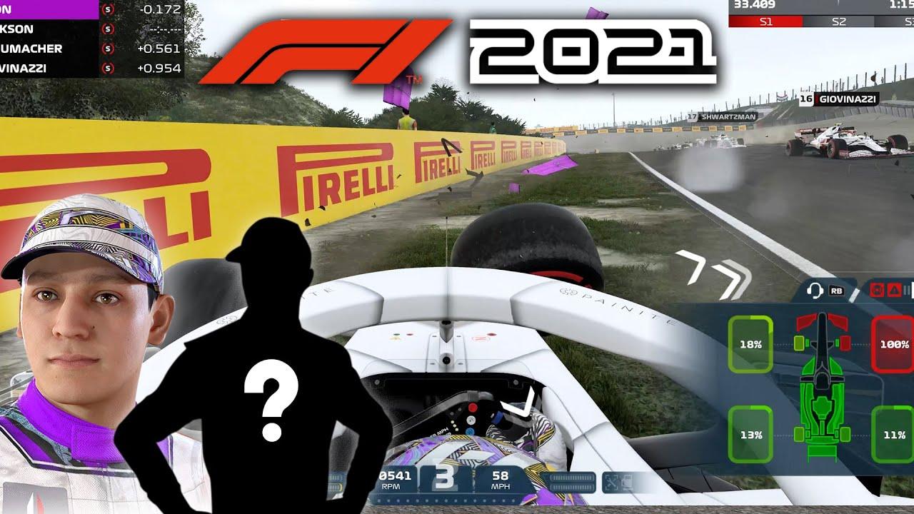 F1 2021 MY TEAM CAREER MODE Part 11 - NEW WORLD CHAMPION TEAM MATE