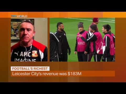 Money Talks: Deloitte's list of wealthy footballers