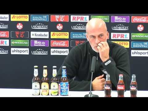 Livestream: Pressekonferenz vor dem Auswärtsspiel beim VfR Aalen