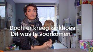 'Ik zag haar blauw aanlopen': baby'tje van Esmeralda had kinkhoest - RTL NIEUWS